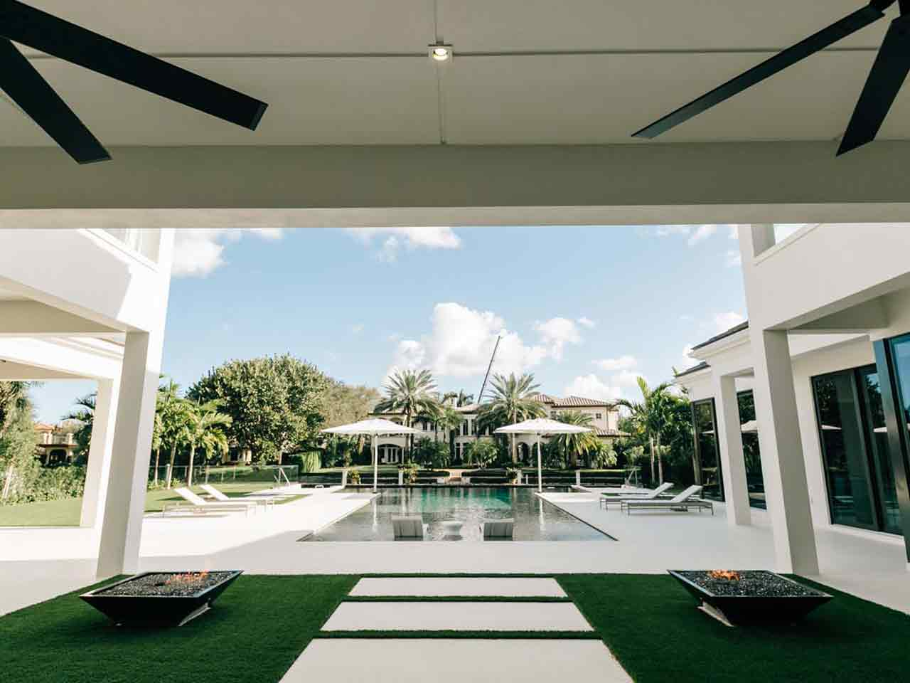 Private residences estates kwd landscape architecture for Florida residential architects